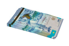 Tenge 10000. Stock Photography