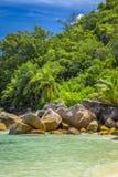 Tenger Anse-strand, Seychellen royalty-vrije stock fotografie