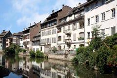 Tenger-Frankrijk, Straatsburg, de Elzas, Frankrijk stock foto