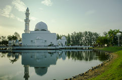 tengku μουσουλμανικών τεμενών tengah zaharah στοκ εικόνες