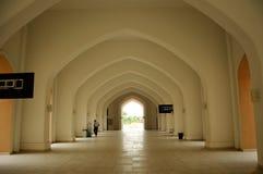 Tengku Ampuan Jemaah清真寺在雪兰莪,马来西亚 免版税库存照片