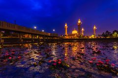 Tengku ampuan jemaah mosque royalty free stock images