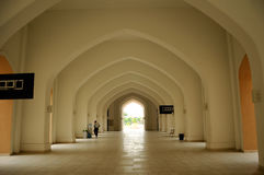 Tengku Ampuan Jemaah Mosque em Selangor, Malásia Foto de Stock Royalty Free