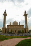 Tengku Ampuan Jemaah Mosque in Selangor, Malaysia. SELANGOR, MALAYSIA – NOVEMBER, 2013: The Tengku Ampuan Jemaah Mosque or Bukit Jelutong Mosque in royalty free stock photo