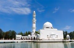 Tengku Tengah Zaharah清真寺或浮动清真寺 库存图片