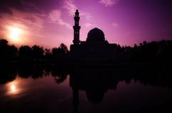 Tengku Tengah Zaharah Moschee Stockfoto