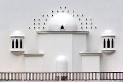 Tengku Tengah Zaharah Mosque. Located at Terengganu, Malaysia Royalty Free Stock Images