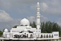 Tengku Tengah Zaharah Mosque in Terengganu Stock Photography