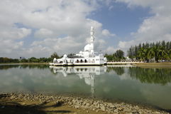 Tengku Tengah Zaharah Mosque in Terengganu Stock Photo