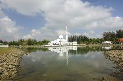 Tengku Tengah Zaharah Mosque in Terengganu Stock Images