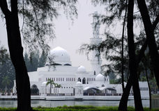 Tengku Tengah Zaharah Mosque in Terengganu Stock Photography