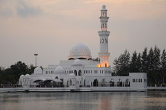 Tengku Tengah Zaharah Mosque in Terengganu Royalty Free Stock Photography