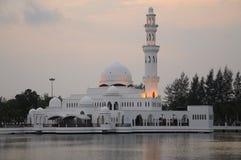 Tengku Tengah Zaharah Mosque in Terengganu Royalty Free Stock Photography