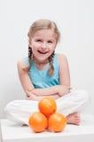 Tengo gusto de las frutas anaranjadas Fotos de archivo