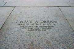 Tengo un sueño Fotos de archivo
