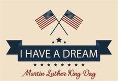 Tengo un sueño Día de Mlk Foto de archivo libre de regalías