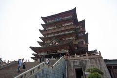 Tengwang亭子,瓷 库存照片