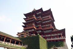 Tengwang亭子,瓷 免版税图库摄影