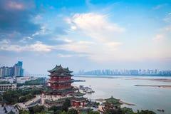 The tengwang pavilion in early morning. Nanchang ,China Stock Images