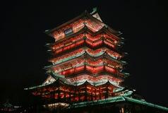 Tengwang paviljong royaltyfri foto