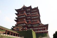Tengwang paviljong, porslin Royaltyfri Fotografi