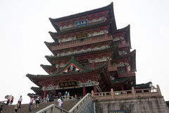 Tengwangpaviljoen, China Stock Foto's