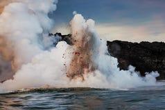 Tenha Lava Blast fotografia de stock royalty free