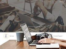 Tenha o Web site do botão do registro da discussão imagem de stock