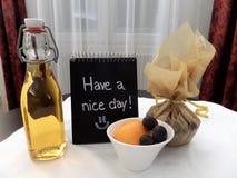 Tenha um bom dia! Desejando um bom dia Foto de Stock