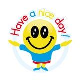 Tenha um dia agradável! Fotografia de Stock Royalty Free