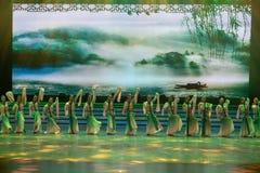 tenha uma excursão na dança mola-nacional imagem de stock