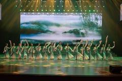 tenha uma excursão na dança mola-nacional imagem de stock royalty free