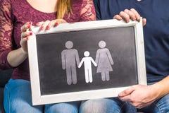 Teniendo niños, bebé de planificación, aumentando a niños, adopción, imagenes de archivo