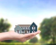 Tenir la maison Image libre de droits