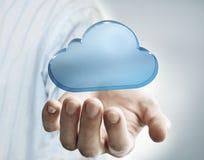 Tenir un nuage Image libre de droits