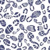 Tenisówka stąpania wzór Zdjęcie Stock