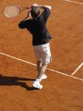 tenis игрока Стоковое Изображение