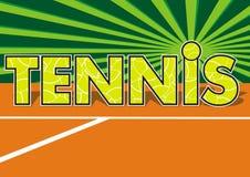 Tenis Fotografía de archivo