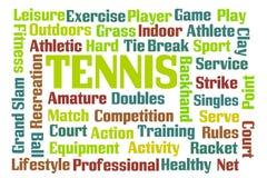 tenis ilustración del vector