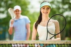 tenis Imágenes de archivo libres de regalías