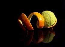 Tenis anaranjado Fotos de archivo libres de regalías