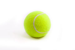 Tenis ball. On white background Royalty Free Stock Image