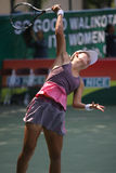 Tenis. Chinese tennis player to compete in ITF Womens circuit in the city of Solo, Central Java, Indonesia Stock Images