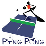 Tenis de mesa Ping Pong Fotos de archivo