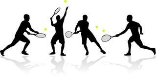 tenis gracza Obrazy Royalty Free