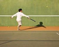tenis gracza obraz royalty free