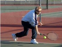 tenis gracza Zdjęcia Stock