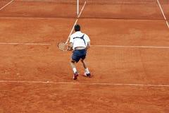 tenis gracza Zdjęcie Stock