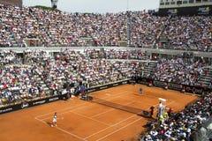Tenis internacional de Roma Foto de archivo