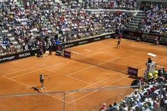 Tenis internacional de Roma Fotografía de archivo